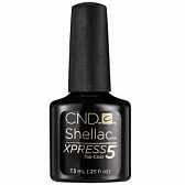 Shellac Xpress5 Top Coat Верхнее покрытие 7,3 мл